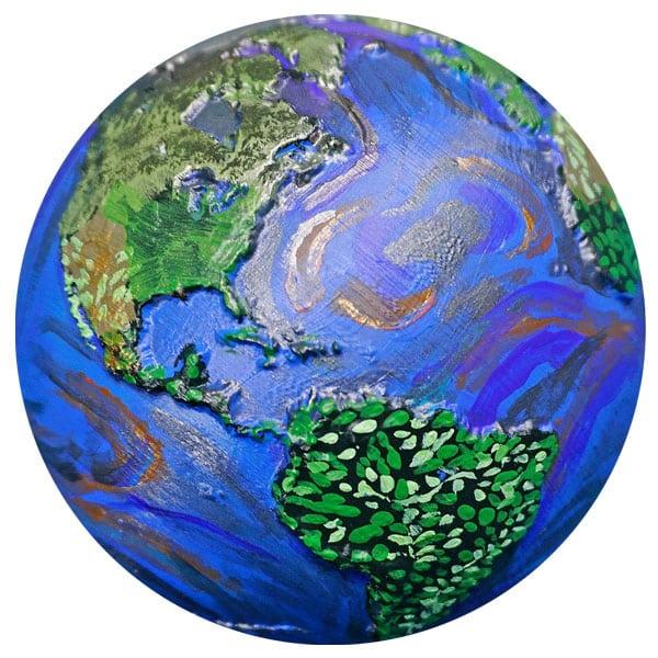Earth 25: Earth Ornament